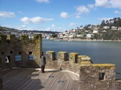 Dartmouth Castle has kept the Dart Estuary open and free from pirates & invaders; what a view!