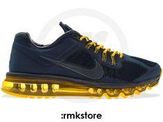 e18bfa2ab50d Nike Air Max 2013 EXT Obsidian Vivid Sulfur - RMKstore