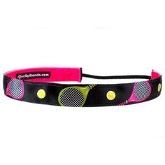 One Up Bands velvet grip tennis headband!