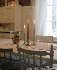 Rooms, Candles, Kitchen, Bedrooms, Cooking, Kitchens, Candy, Candle Sticks, Cuisine