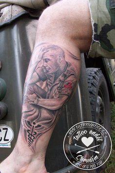 Daniel Říčan  tattoo Anděl Chrudim Czech republic