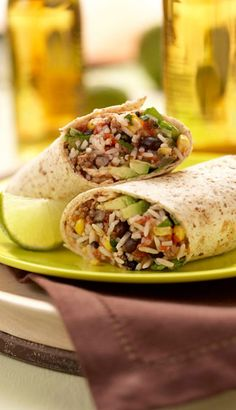 I DREAM of these west coast style burritos frequently!