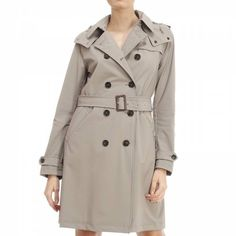 Designer Clothes, Shoes & Bags for Women White Trench Coat, Double Breasted Trench Coat, Burberry Trench Coat, Trench Jacket, Sporty Chic Style, Shops, Jackets For Women, Clothes For Women, Burberry Prorsum