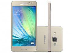 Smartphone Samsung Galaxy A3 Duos Dual Chip 4G com as melhores condições você encontra no site do Magazine Luiza. Confira!