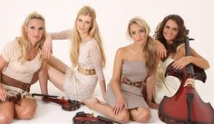 Stellini | Electric Strings To Book Or Hire | Sternberg Clarke