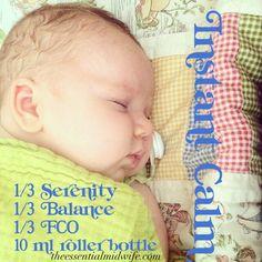 Birth Info Graphic Instant Calm