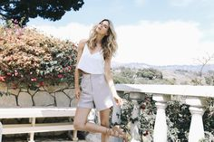 Floral affair in our Trouser Shorts | #MYJAMESJEANS