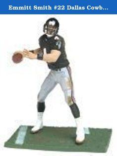 Emmitt Smith #22 Dallas Cowboys White Jersey Variant Chase Alternate Action Figure McFarlane NFL Series 6 by McFarlane Toys by Unknown. Emmitt Smith #22 Dallas Cowboys White Jersey Action Figure McFarlane NFL Series 6.