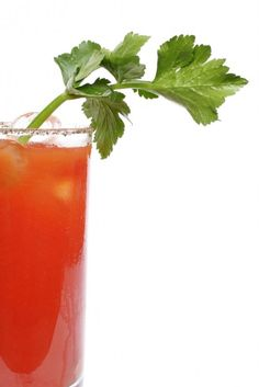 Bloody Mary  45ml (3 parts) Vodka 90ml (6 parts) Tomato juice 15ml (1 part) Lemon juice Preparation	Add dashes of Worcestershire Sauce, Tabasco, salt and pepper into highball glass, then pour all ingredients into highball with ice cubes. Stir gently. Garnish with celery stalk and lemon wedge