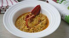 Arroz con bogavante fácil, la receta que siempre queda en su punto Hummus, Risotto, Oatmeal, Grains, Rice, Rica Rica, Cooking, Breakfast, Ethnic Recipes