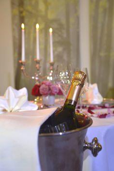 In so einem Ambiente schmeckt Champagner am besten.