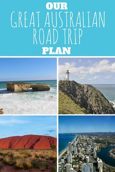 Our Great Australian Road Trip Plan - The Trusted Traveller