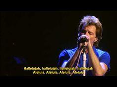 Bon Jovi - Hallelujah Live At Madison Square Garden 2008 (Legendado em Português e Inglês) - YouTube