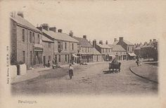 Newbiggin Front Street at around the turn of the centry