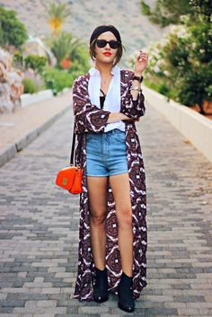 Urban Outfitters festival outfit the little magpie 1 Festival Looks, Boho Festival, Festival Wear, Moda Kimono, Got The Look, Street Outfit, Kimono Fashion, Outfit Posts, Her Style