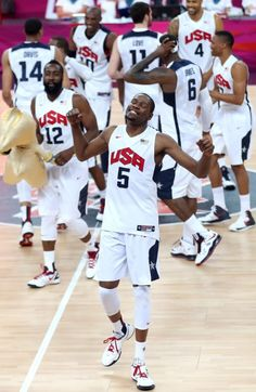 Kevin Durant/ Russell Westbrook on team USA