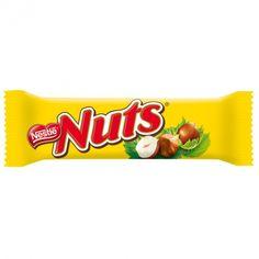 Nuts, la barre de chocolat aux noisettes
