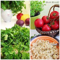 Salata tabouleh cu quinoa - Bucate Aromate Quinoa, Grains, Rice, Vegetables, Food, Green, Bulgur, Salads, Essen