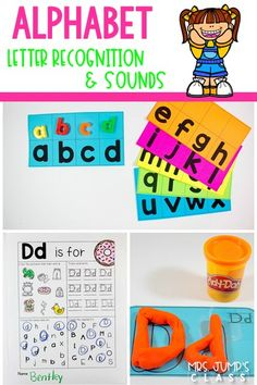 Use this resource to help your students master Alphabet Letter Identification and Sound. Great for whole group, small group, literacy centers, and RTI.
