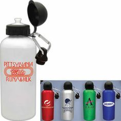 Aluminum Bottles from http://www.schoolspiritstore.com/school-supplies-and-fun-stuff/plant-a-tree-cards/