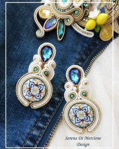 Soutache Jewelry, Instagram, Brooch, Jewels, Earrings, Fashion, Ear Rings, Moda, Stud Earrings