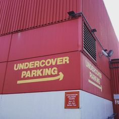 """This country makes me laugh sometimes. """"The name's Garage Parking Garage."""" #007 #undercoverparking #onlyinnz #kiwism"""
