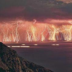 Greece lightning