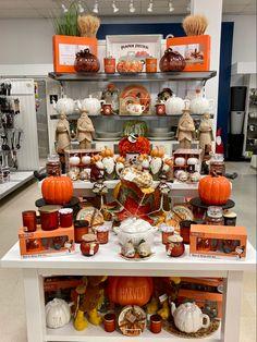 Shop Windows, Charity Shop, Marshalls, Fall Harvest, Thanksgiving Decorations, Visual Merchandising, Tj Maxx, Pumpkin, Display