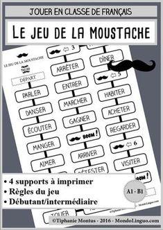 Un jeu de plateau pour conjuguer des verbes !