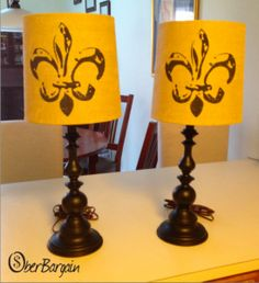 How to Spray Paint Lamp Bases. So easy!