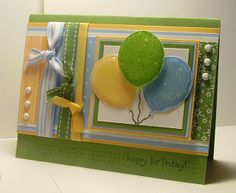 Can you say????.....Addicted(to stamps)!!!: Go Laura!! using Stampin Up Birthday Whimsy