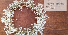I remember when baby's breath were all the rage when I was growing up. They were used as a cheap filler for practically every floral arrange...