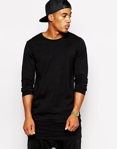 ASOS Super Longline Long Sleeve T-Shirt