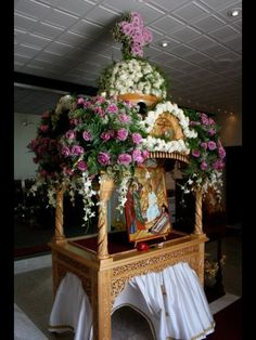St Paul's Irvine - Kovuklian 2012 Holy Thursday, Orthodox Easter, Holy Week, Holi, Flower Arrangements, Floral Wreath, Wreaths, Flowers, Greek