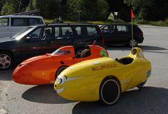 Vinje i Hordaland, WAW and Mango velomobile