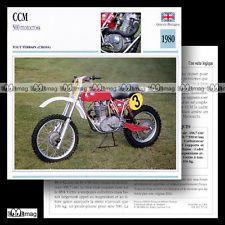 # 059,14 MOTOCROSS 500 CCM 1980 Sheet motorfiets Card