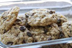 Chocolate chip oatmeal raisin lactation cookies