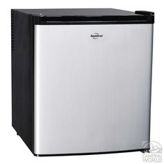AC/DC Heat Pipe Fridge - Koolatron Corp KCR40B - Portable Refrigerators - Camping World I'M SURE OTHER MANUFACTURES MAKE SIMILAR ITEM AND COST MOST LIKELY IN THIS SAME TYPE FRIDGE,   $250, WHEN YOU NEED JUST A BIT MORE FRIDGE SPACE., AT 1.7 CU FT, PERFECT SIZE ', EXTRA ROOM FOR FIRST REGULAR MONTHLY SHOPPING. IF LIKE MYSELF, MOSTLY EAST VEGES AND FRUIT, THIS IS GREAT.