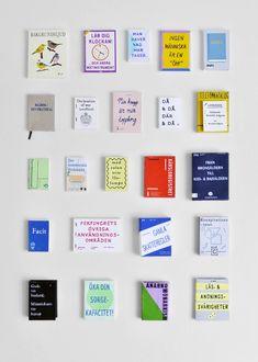 Henrik Franklin produces a table of tiny books for miniature art gallery Magazine Cover Design, Magazine Covers, Its Nice That, Book And Magazine, Book Projects, Mini Books, Book Design, Layout Design, Brochure Design