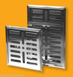 Stainless Steel Air Vent Grille x Metal Wall Ventilation Cover Extractor Fans, Air Vent, Metal Walls, Stainless Steel, Cover, Diy, Bedroom Ideas, Furniture, House