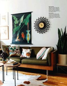 Poppytalk: The New York apartment of stylist Marcus Hay {Ideat Magazine}  #bohemian #interior