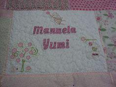 Capa de travesseiro personalizada Parte 5 - Agora quiltada www.saldaterrapatchwork.blogspot.com face Renata Deichsel renata.deichsel@gmail.com