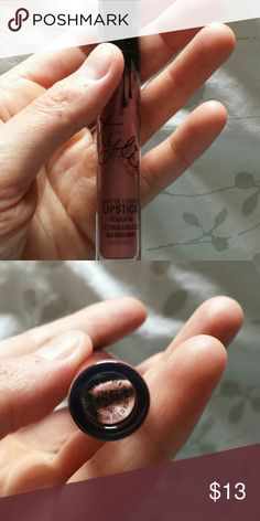 Authentic kylie jenner love bite kit. Used about 4 times. Color love bite. Makeup Lipstick