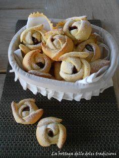 La bottega delle dolci tradizioni: Roselline alla nutella. TRANSLATE WITH BING OR GOOGLE