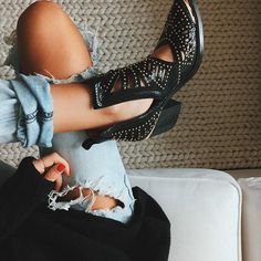 Tell me about it, stud #outfitinspo #shoesofinsta #aboutalook #stylehunter #trendhunter
