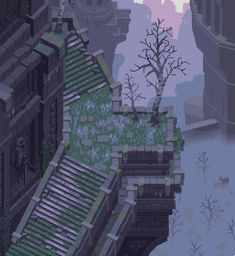 Pixel Life, Arte 8 Bits, Dark Castle, Pix Art, Pixel Animation, Pixel Art Games, Fantasy Landscape, Game Design, Design Concepts