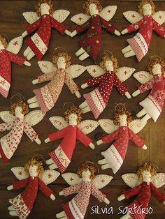 Bonecas/ doll / softie/ anjo / angel / Christmas