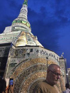 Mandalay/Myanmar - a brand new pagoda made of jade