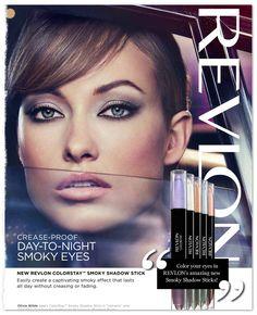 @OliviaWilde for @Revlon - Exclusive Sneak Peek! New #beauty ads!