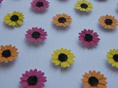 Image of Gerbera - Small - Pink/Orange/Yellow Gerbera, Something Beautiful, Orange Yellow, Framed Artwork, Create, Floral, Flowers, Pink, Handmade